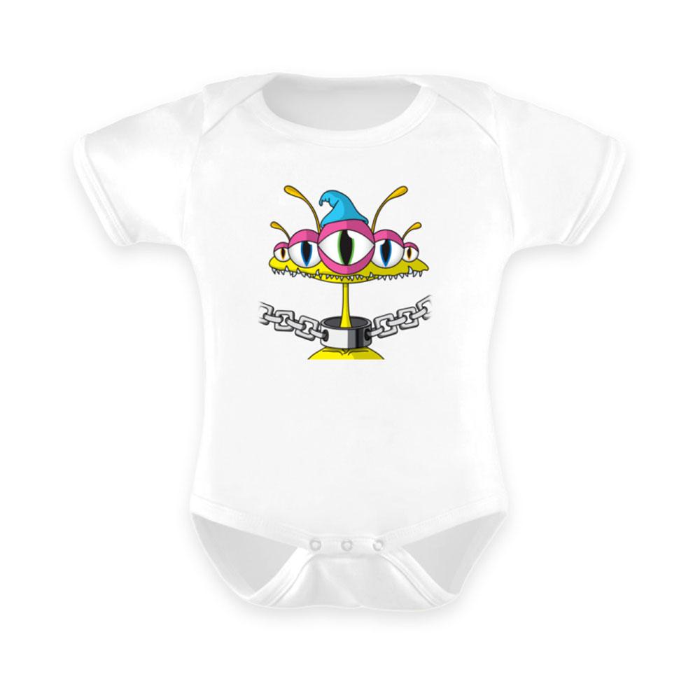 Baby-Strampler baby body-s bodies strampler lang-arm kurz-arm mädchen junge papa mama mit spruch sprüche-n alien