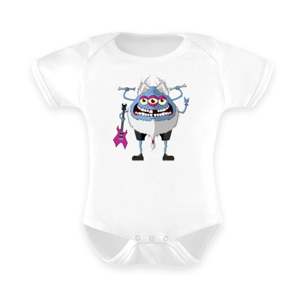 Baby-Strampler baby body-s bodies strampler lang-arm kurz-arm mädchen junge papa mama mit spruch sprüche-n metal