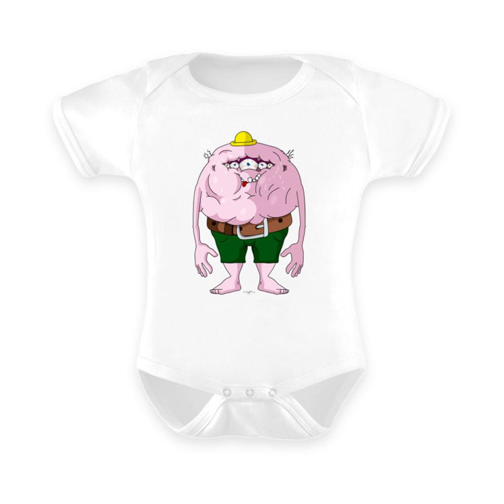 Baby-Strampler baby body-s bodies strampler lang-arm kurz-arm mädchen junge papa mama mit spruch sprüche-n fett-sack