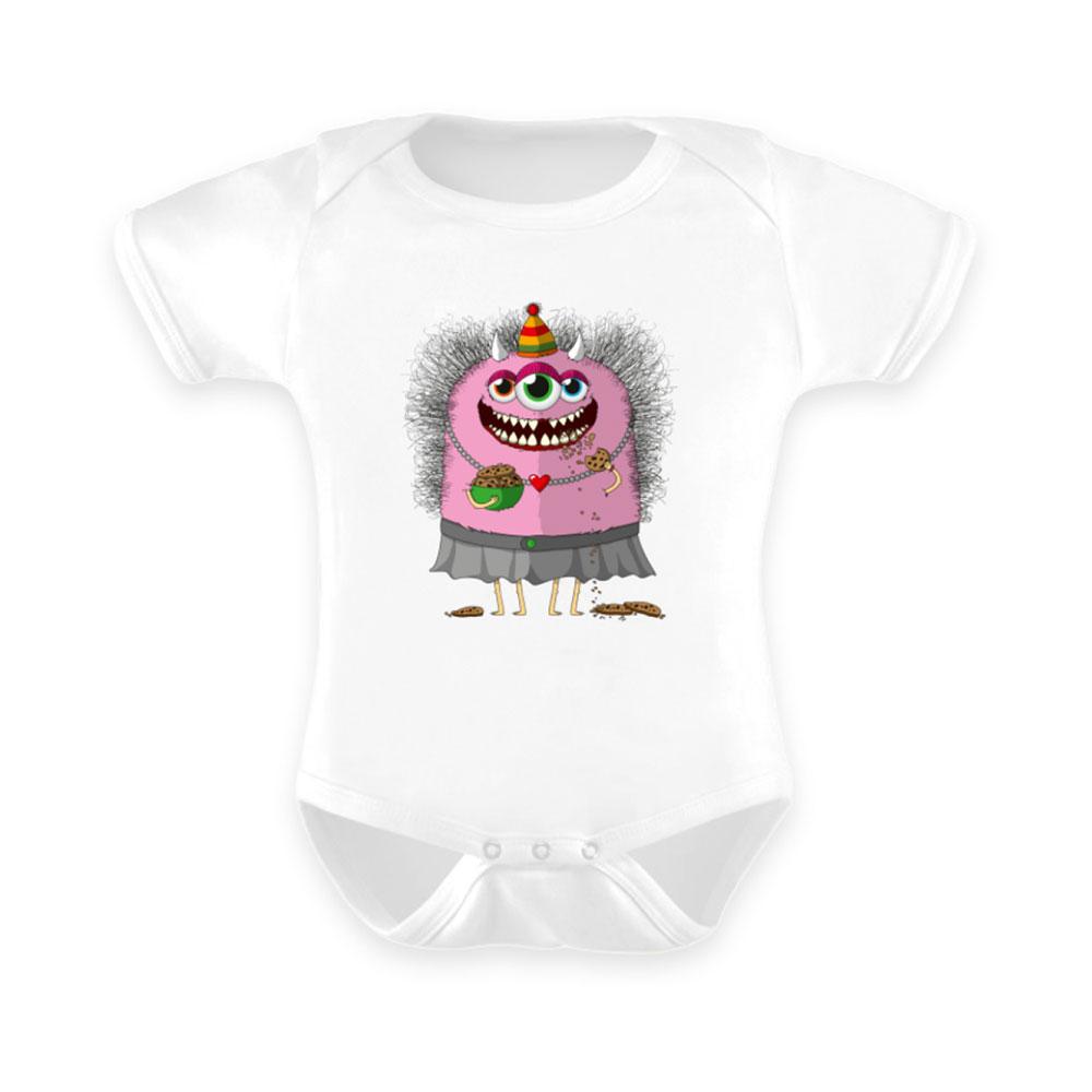 baby-strampler strampler baby-anzug berlin-monster-art outfit helgard kekse