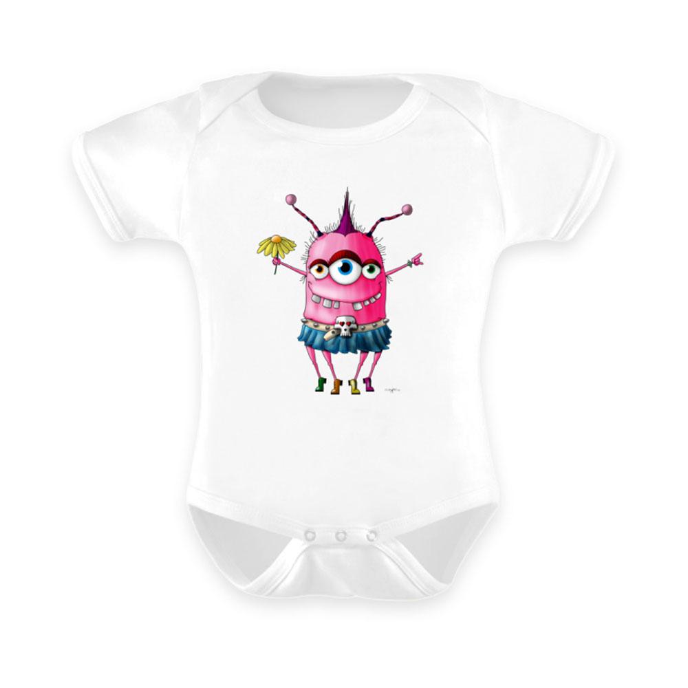 baby-strampler strampler baby-anzug berlin-monster-art outfit linderella grunge