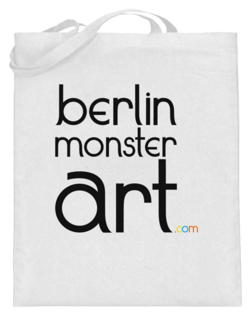 jute-beutel berlin-monster-art bedruckte tasche-n einkaufen geburtstag verschenken geschenkidee monster streetart berlin monster art berlinmonsterart