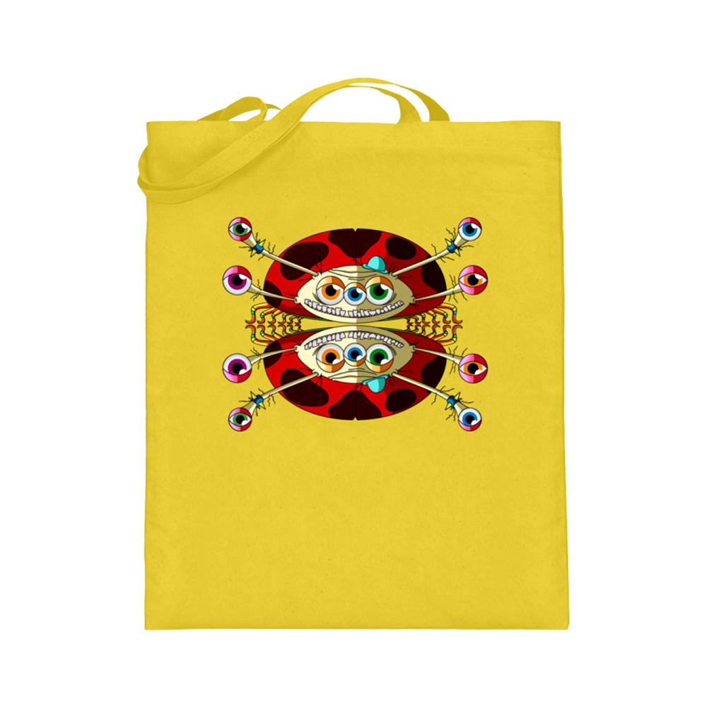 jute-beutel berlin-monster-art bedruckte tasche-n einkaufen geburtstag verschenken geschenkidee monster streetart buckley käfer kaefer krabbeln krabbel
