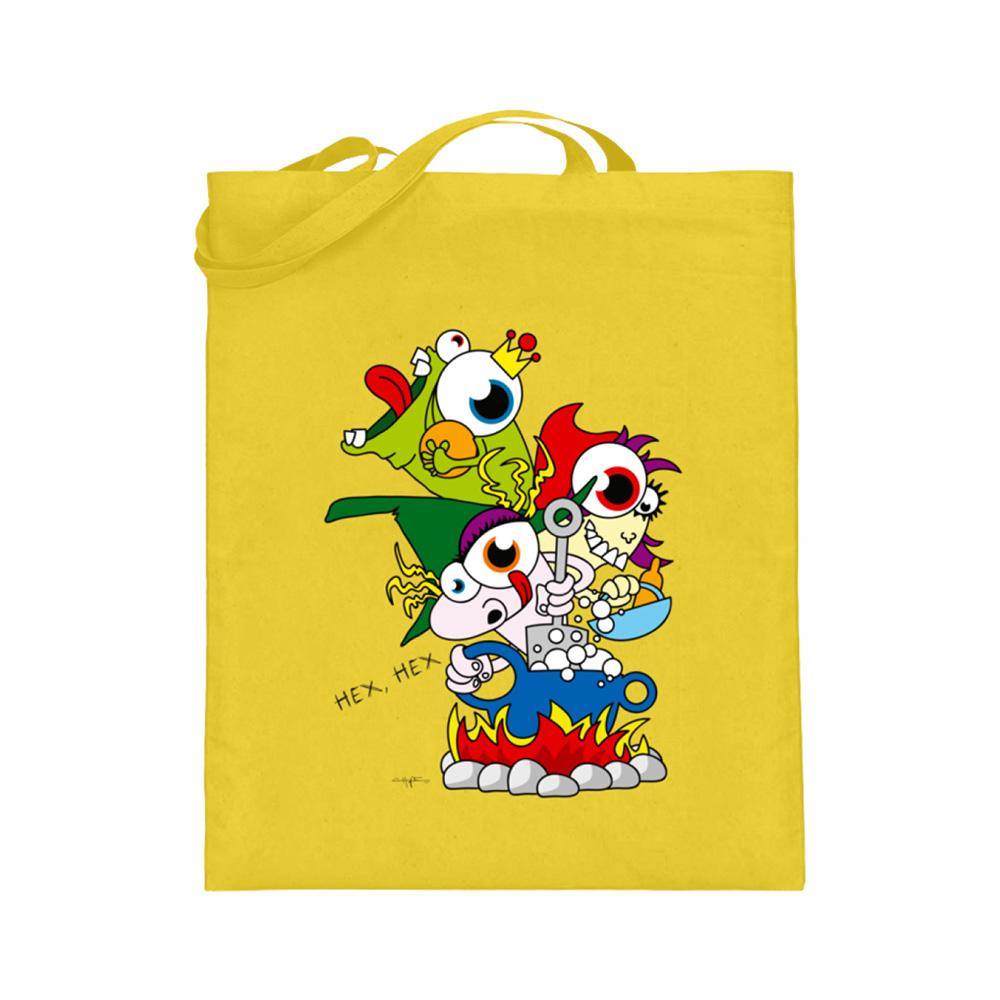 jute-beutel berlin-monster-art bedruckte tasche-n einkaufen geburtstag verschenken geschenkidee monster streetart märchen hex hex grimm frosch rotkäppchen hexe