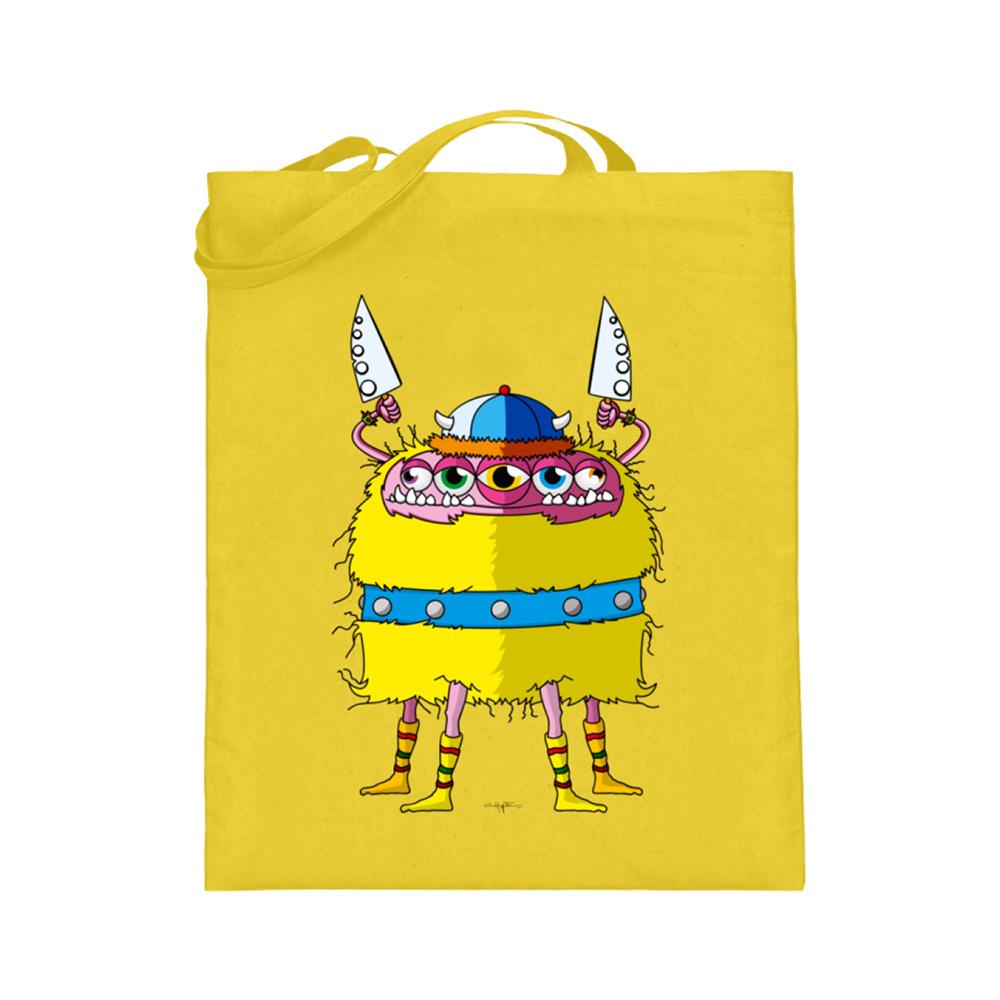 jute-beutel berlin-monster-art bedruckte tasche-n einkaufen geburtstag verschenken geschenkidee monster streetart lars wikinger