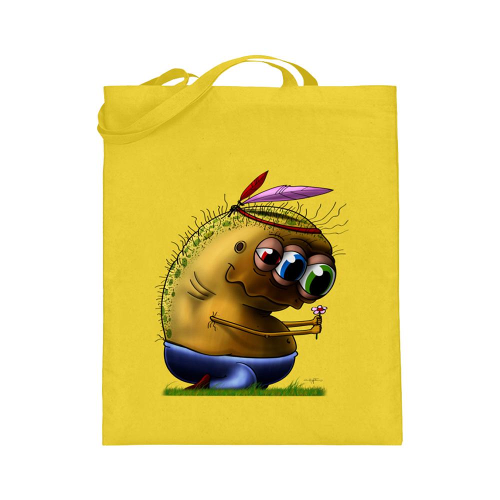 jute-beutel berlin-monster-art bedruckte tasche-n einkaufen geburtstag verschenken geschenkidee monster streetart pino kartoffel