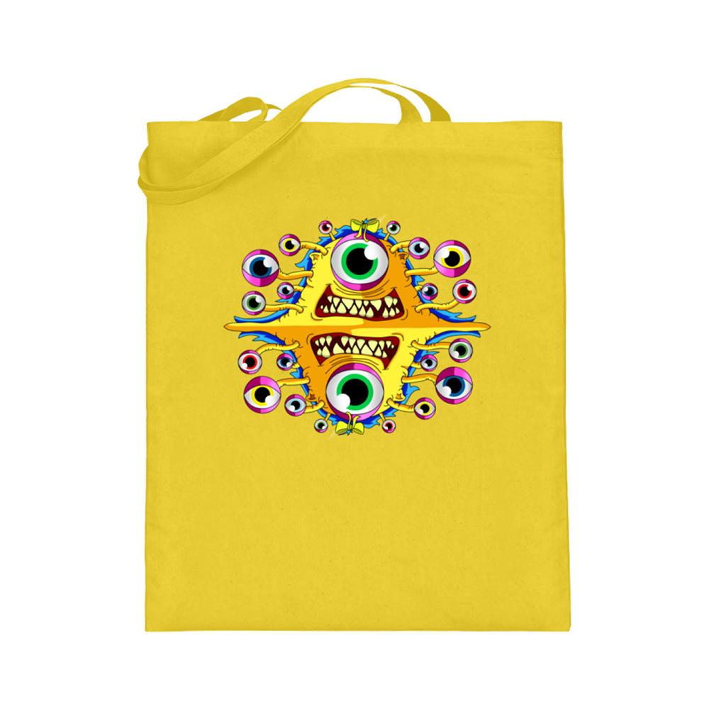jute-beutel berlin-monster-art bedruckte tasche-n einkaufen geburtstag verschenken geschenkidee monster streetart ursula