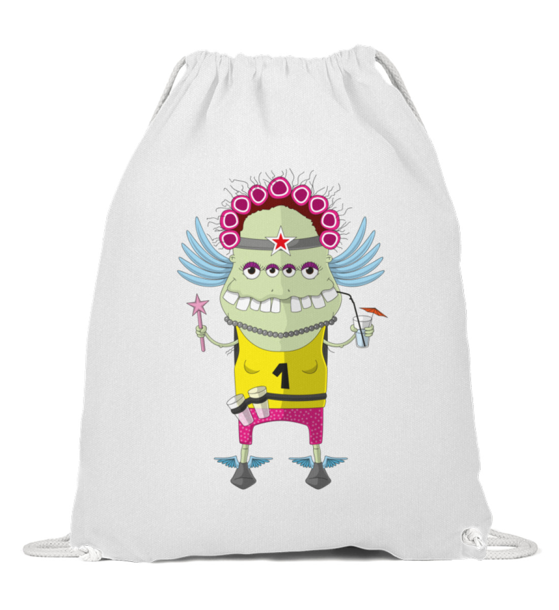 Gymsack - Muddy berlin-monster-art berlinmonsterart sport tasche