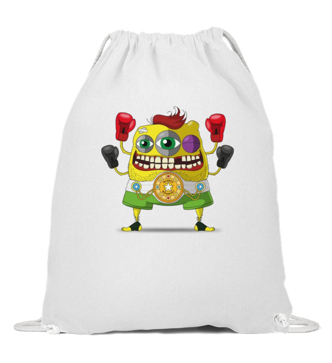 Gymsack - Los-Ronos berlin-monster-art berlinmonsterart sport tasche