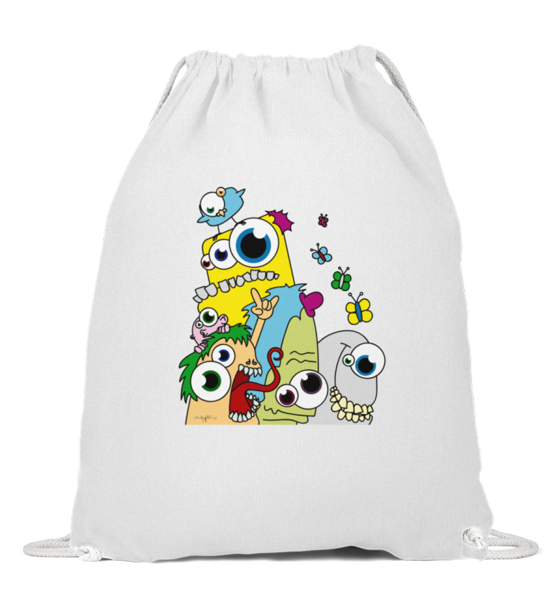 Gymsack - Popart berlin-monster-art berlinmonsterart sport tasche