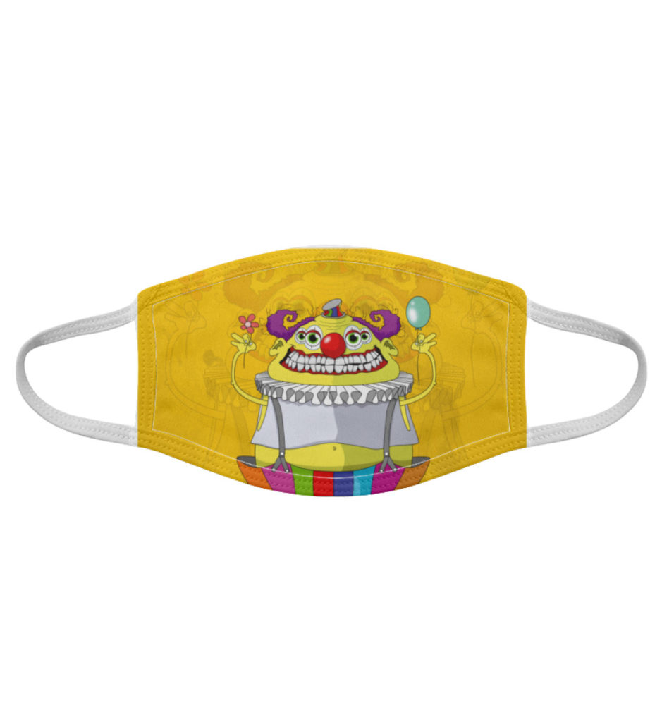 Atemschutz-Maske-Clown - Gesichtsmaske-7019