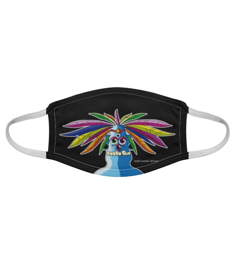 Atemschutz-Maske-manolo-black - Gesichtsmaske-7019