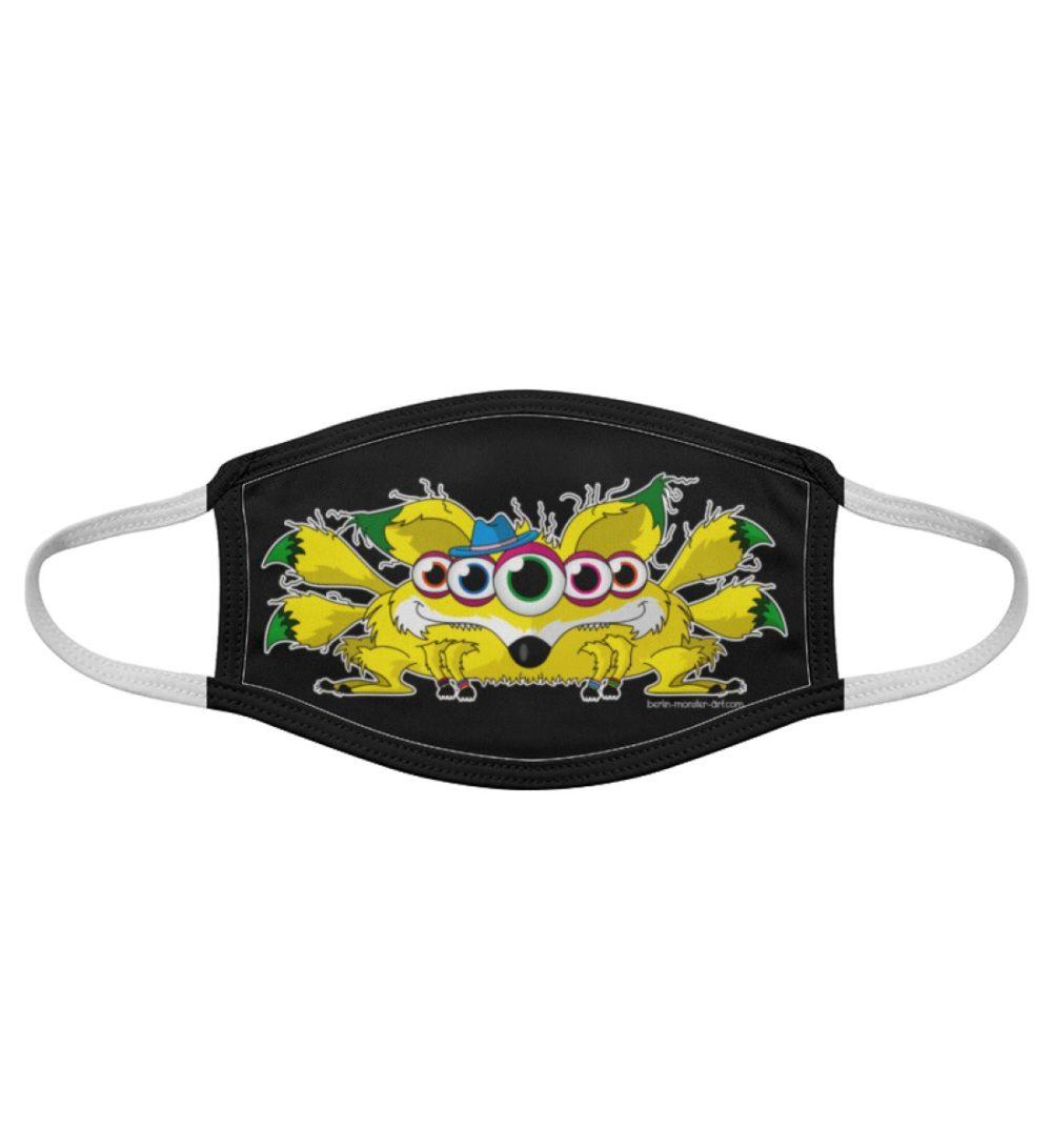 Atemschutz-Maske-fox-black - Gesichtsmaske-7019