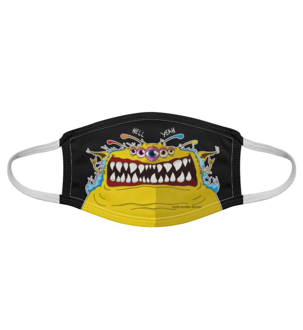 Atemschutz-Maske-heinz-black - Gesichtsmaske-7019
