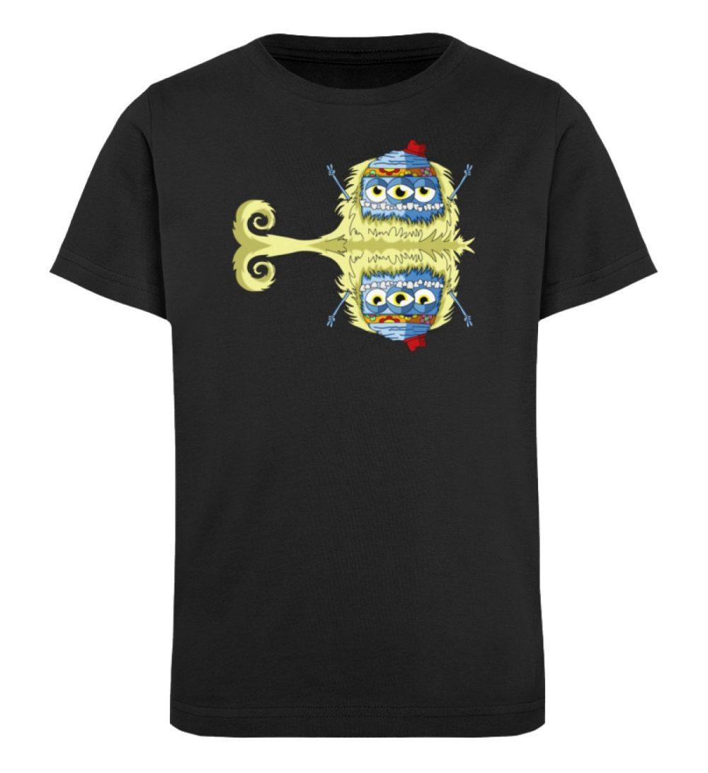 berlin-monster-art-shirt-kids-edward - Kinder Organic T-Shirt-16