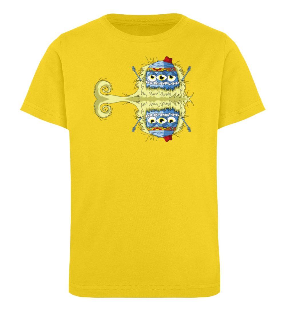 berlin-monster-art-shirt-kids-edward - Kinder Organic T-Shirt-6905