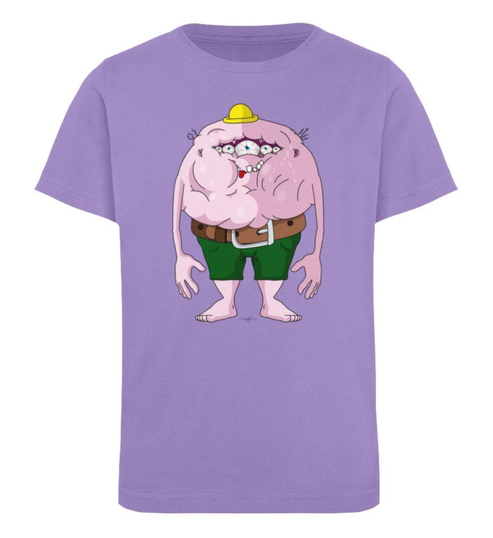 berlin-monster-art-shirt-kids-fats - Kinder Organic T-Shirt-6904