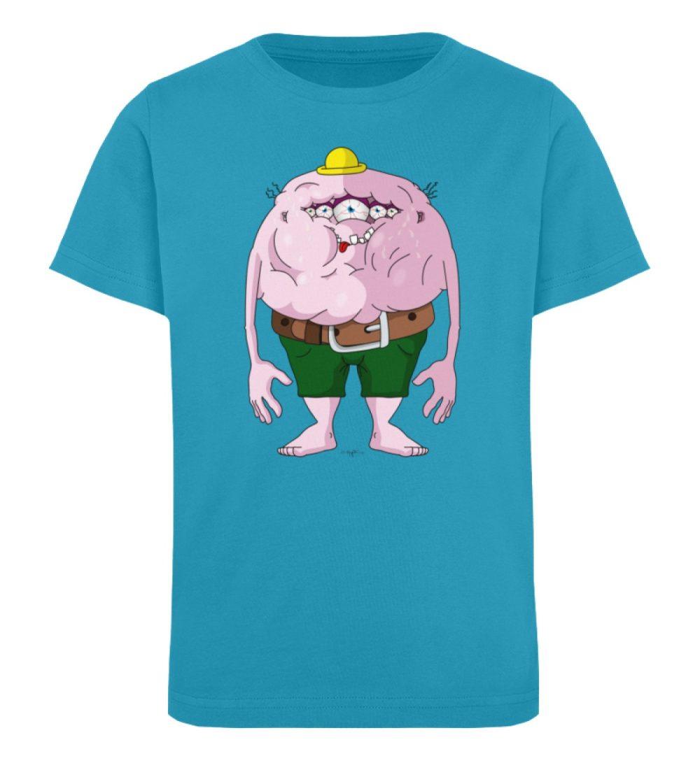 berlin-monster-art-shirt-kids-fats - Kinder Organic T-Shirt-6885