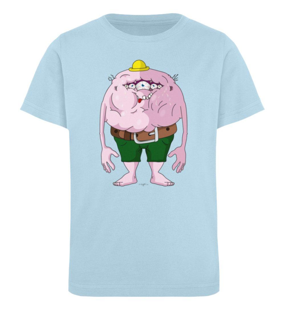 berlin-monster-art-shirt-kids-fats - Kinder Organic T-Shirt-6888