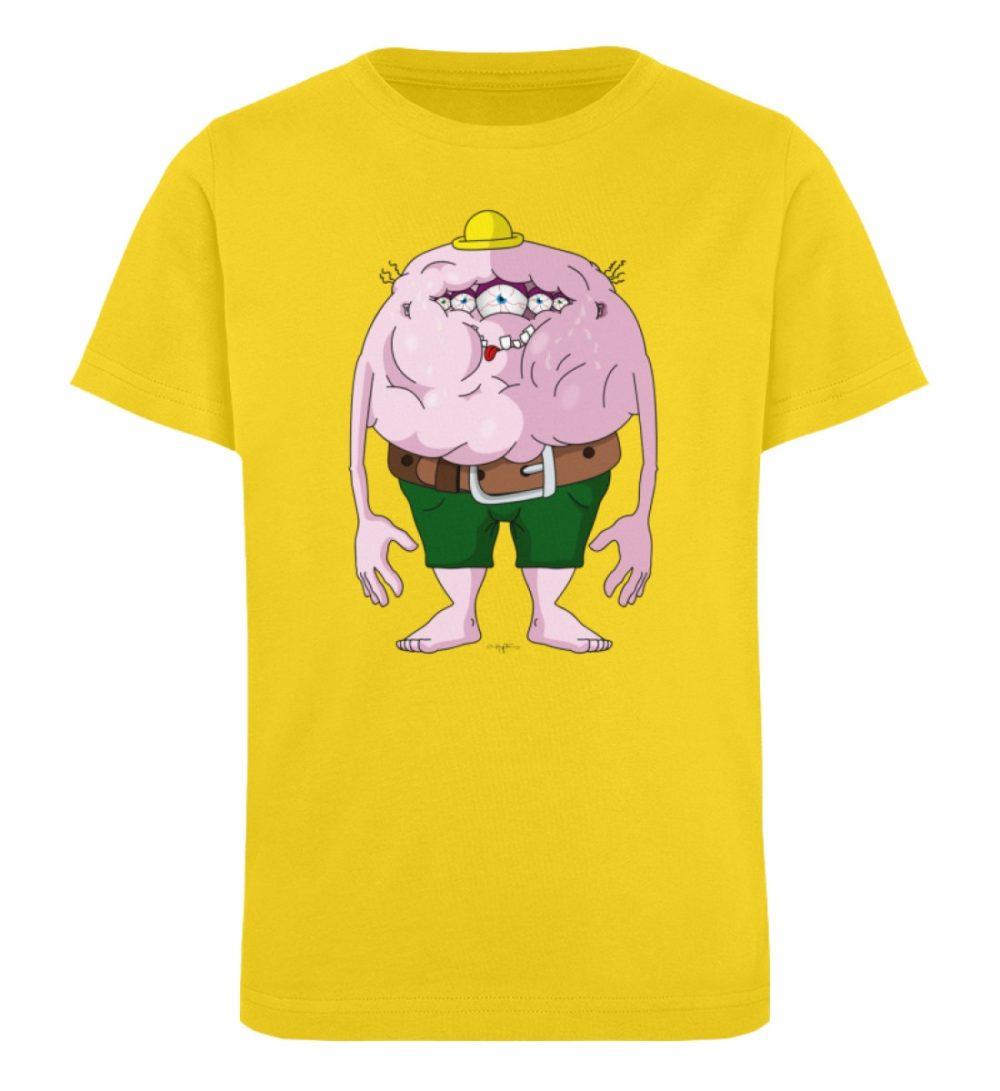 berlin-monster-art-shirt-kids-fats - Kinder Organic T-Shirt-6905