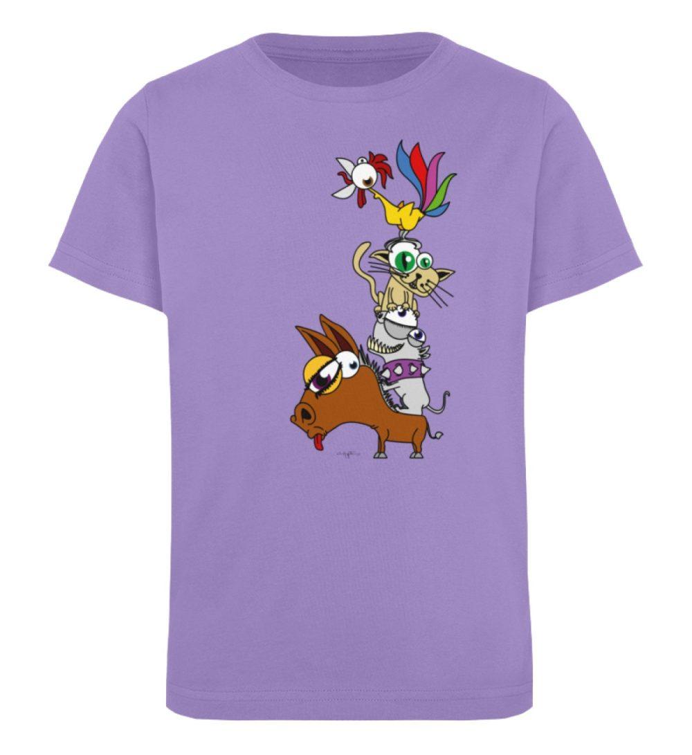 berlin-monster-art-shirt-kids-musikanten - Kinder Organic T-Shirt-6904