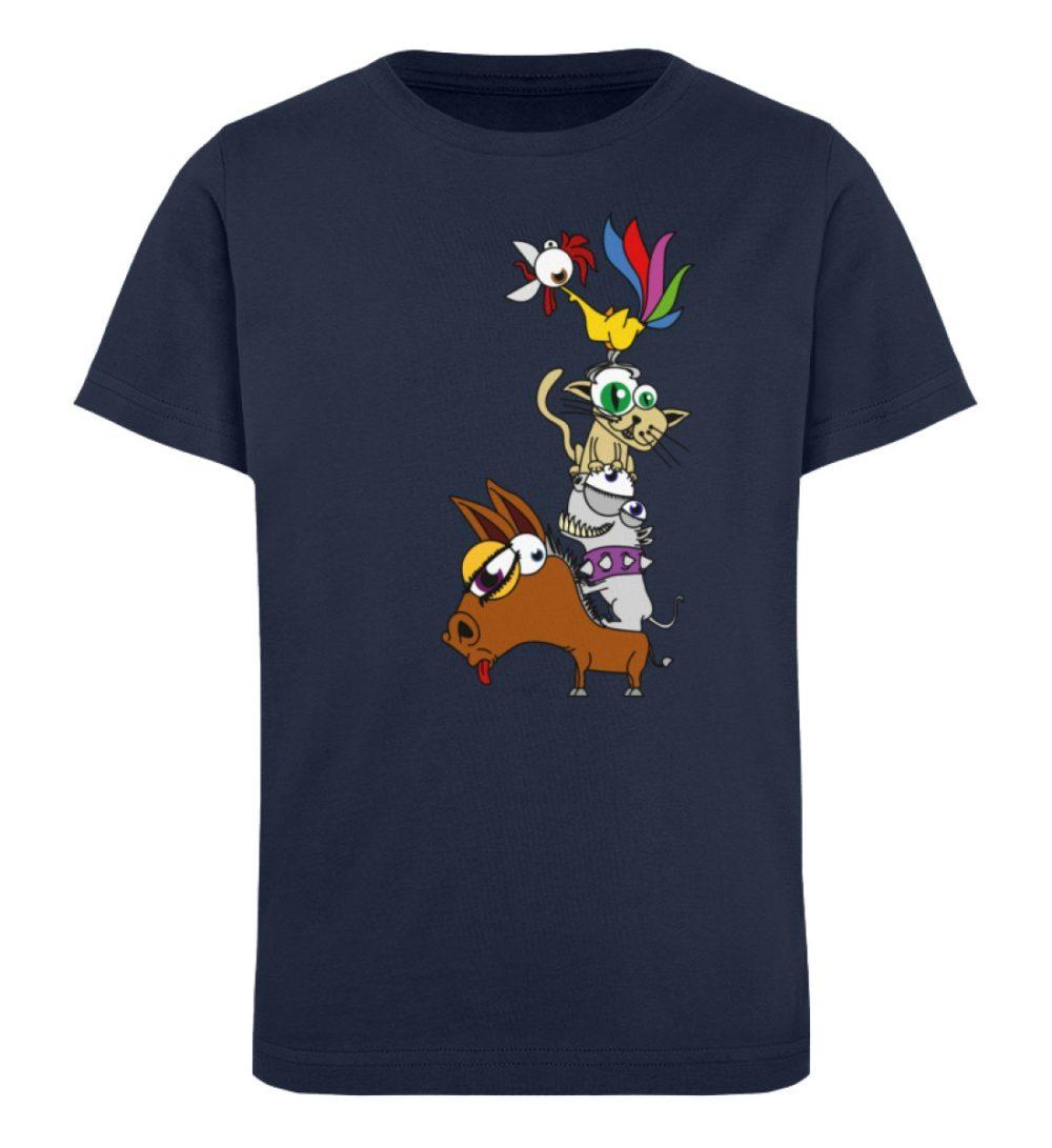 berlin-monster-art-shirt-kids-musikanten - Kinder Organic T-Shirt-6887