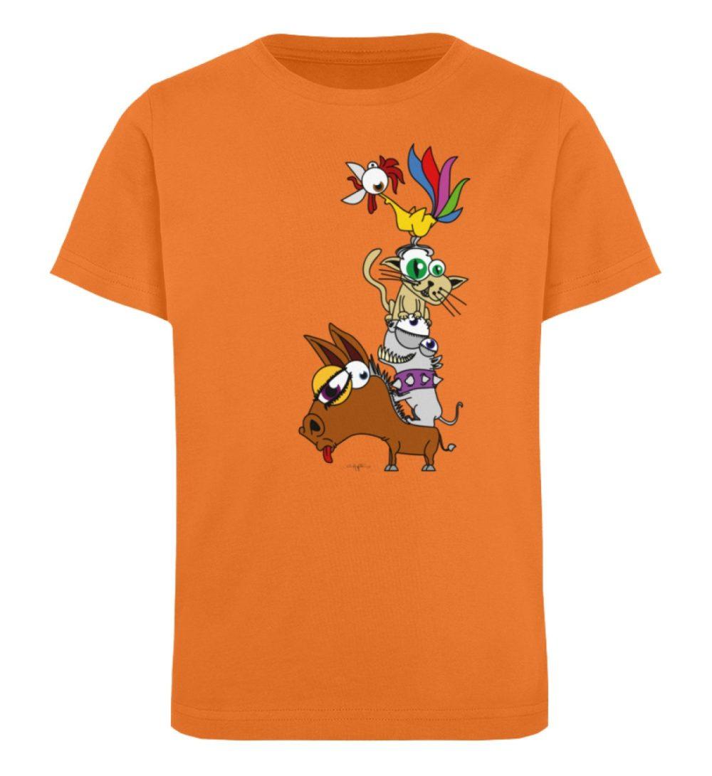 berlin-monster-art-shirt-kids-musikanten - Kinder Organic T-Shirt-6902
