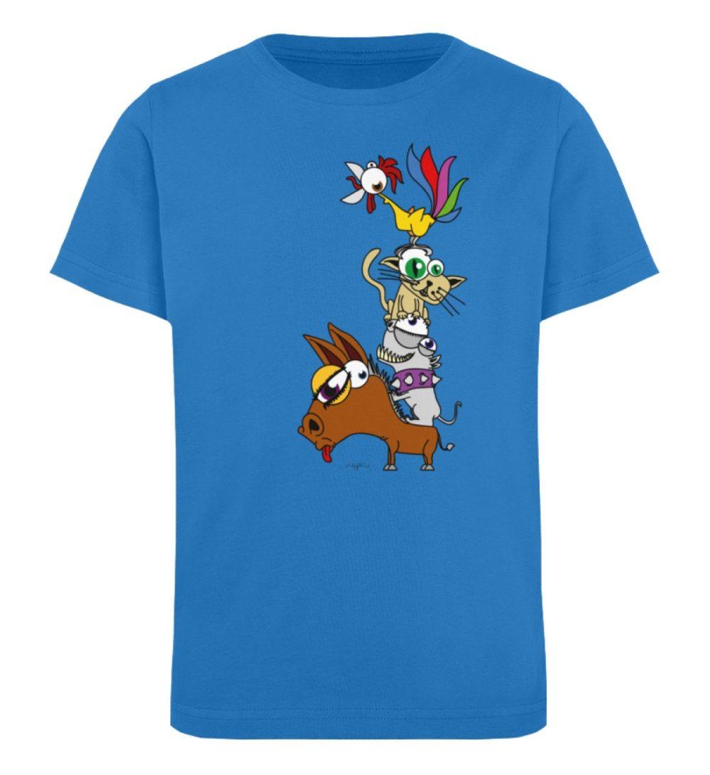 berlin-monster-art-shirt-kids-musikanten - Kinder Organic T-Shirt-6886