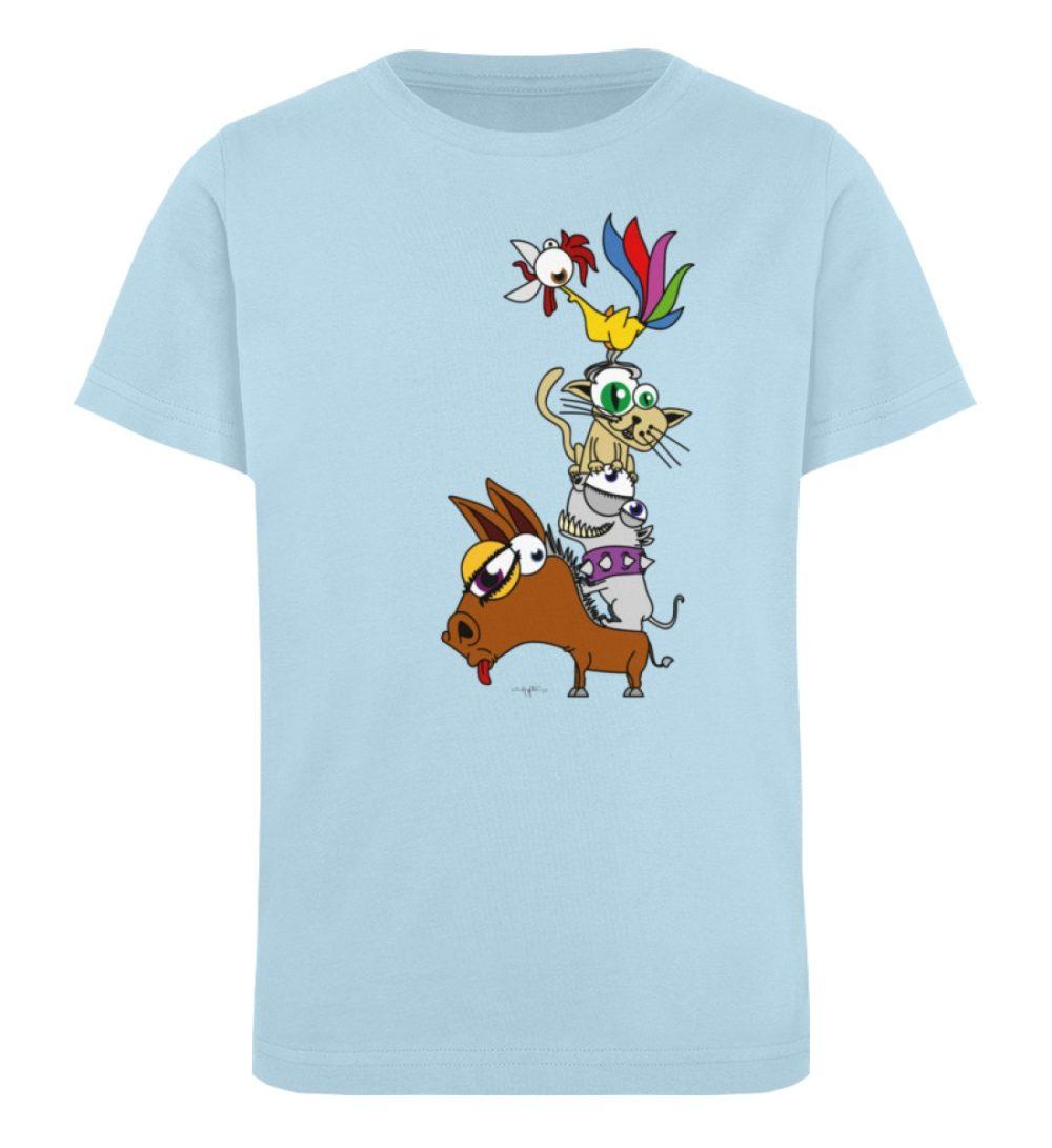 berlin-monster-art-shirt-kids-musikanten - Kinder Organic T-Shirt-6888