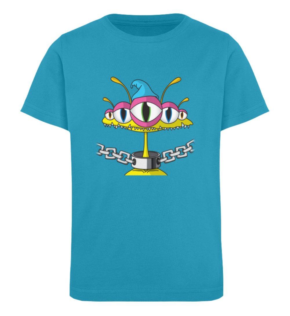 berlin-monster-art-shirt-kids-aliens - Kinder Organic T-Shirt-6885