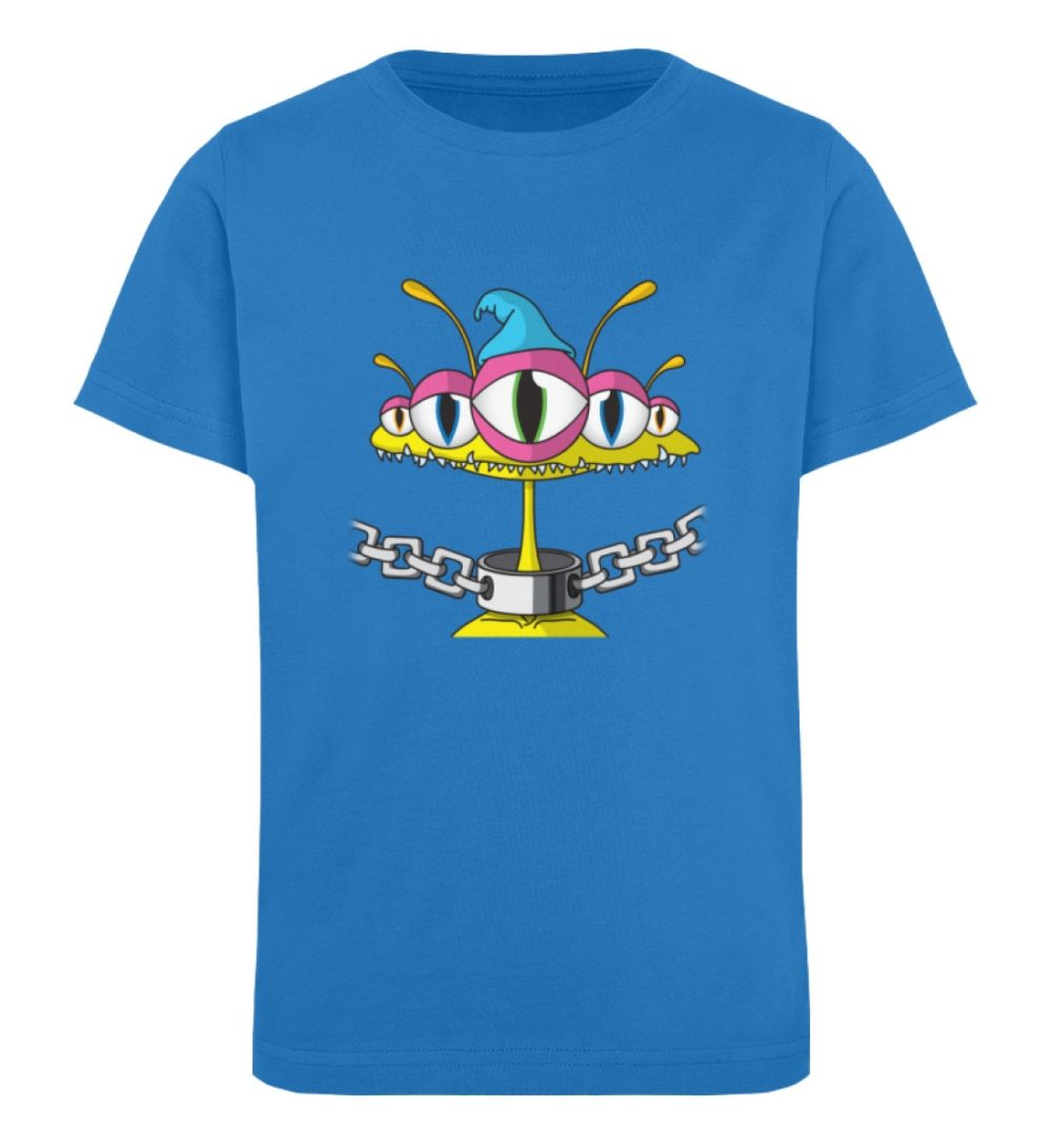berlin-monster-art-shirt-kids-aliens - Kinder Organic T-Shirt-6886