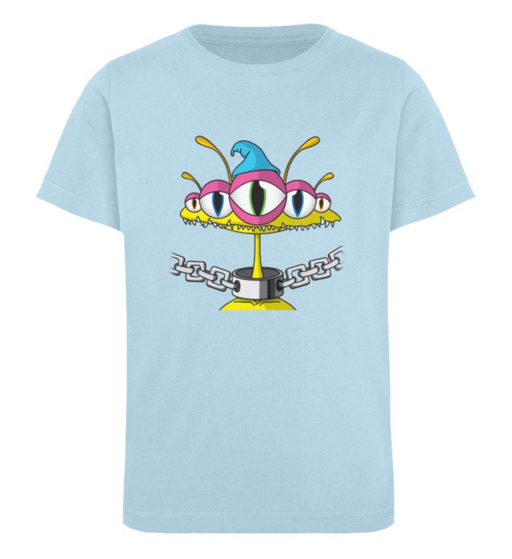 berlin-monster-art-shirt-kids-aliens - Kinder Organic T-Shirt-6888