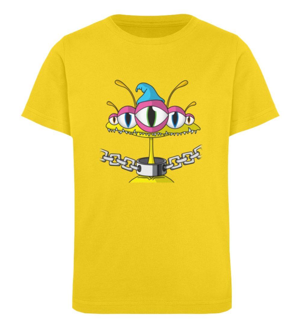 berlin-monster-art-shirt-kids-aliens - Kinder Organic T-Shirt-6905