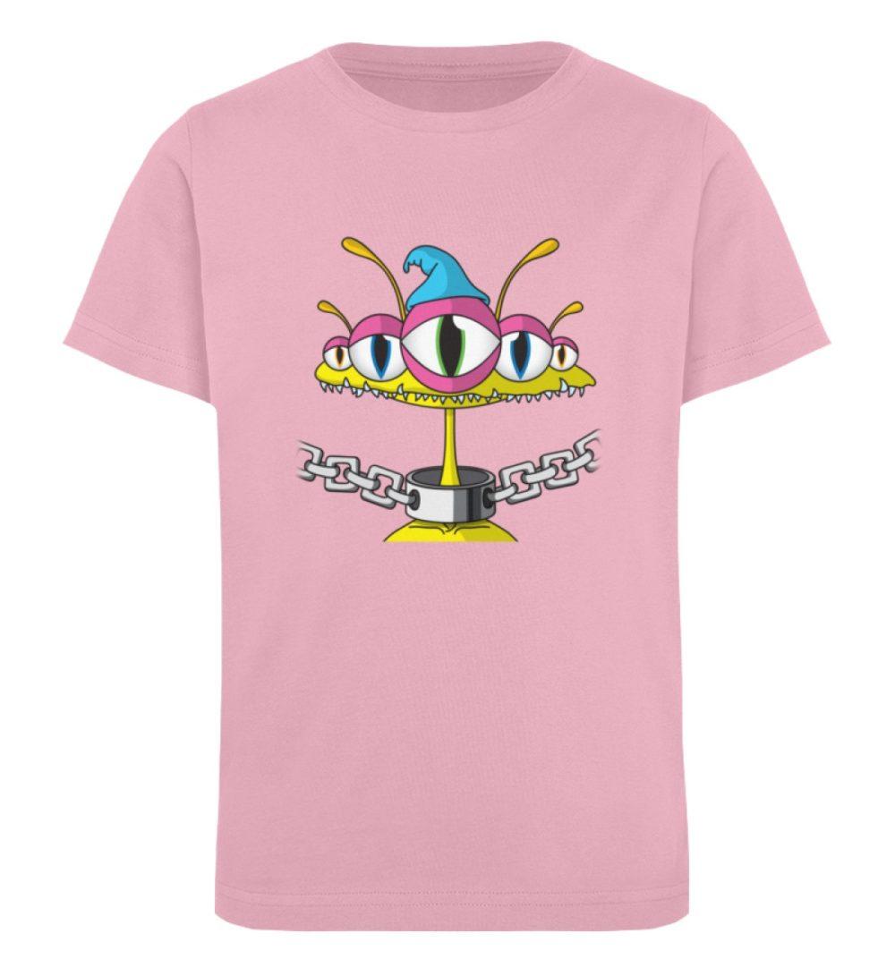 berlin-monster-art-shirt-kids-aliens - Kinder Organic T-Shirt-6903