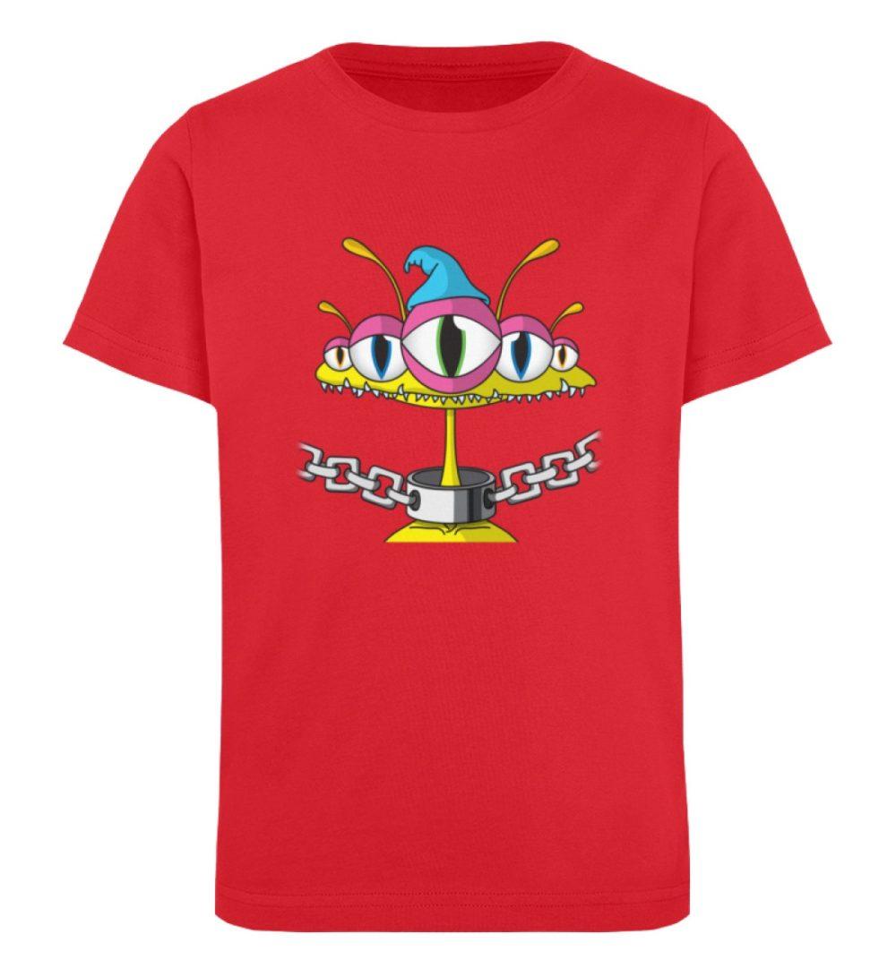 berlin-monster-art-shirt-kids-aliens - Kinder Organic T-Shirt-6882
