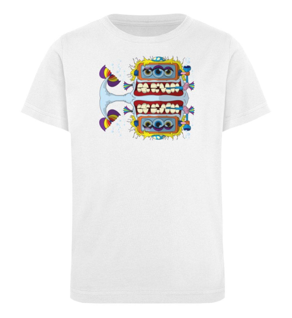 berlin-monster-art-shirt-kids-fishy - Kinder Organic T-Shirt-3