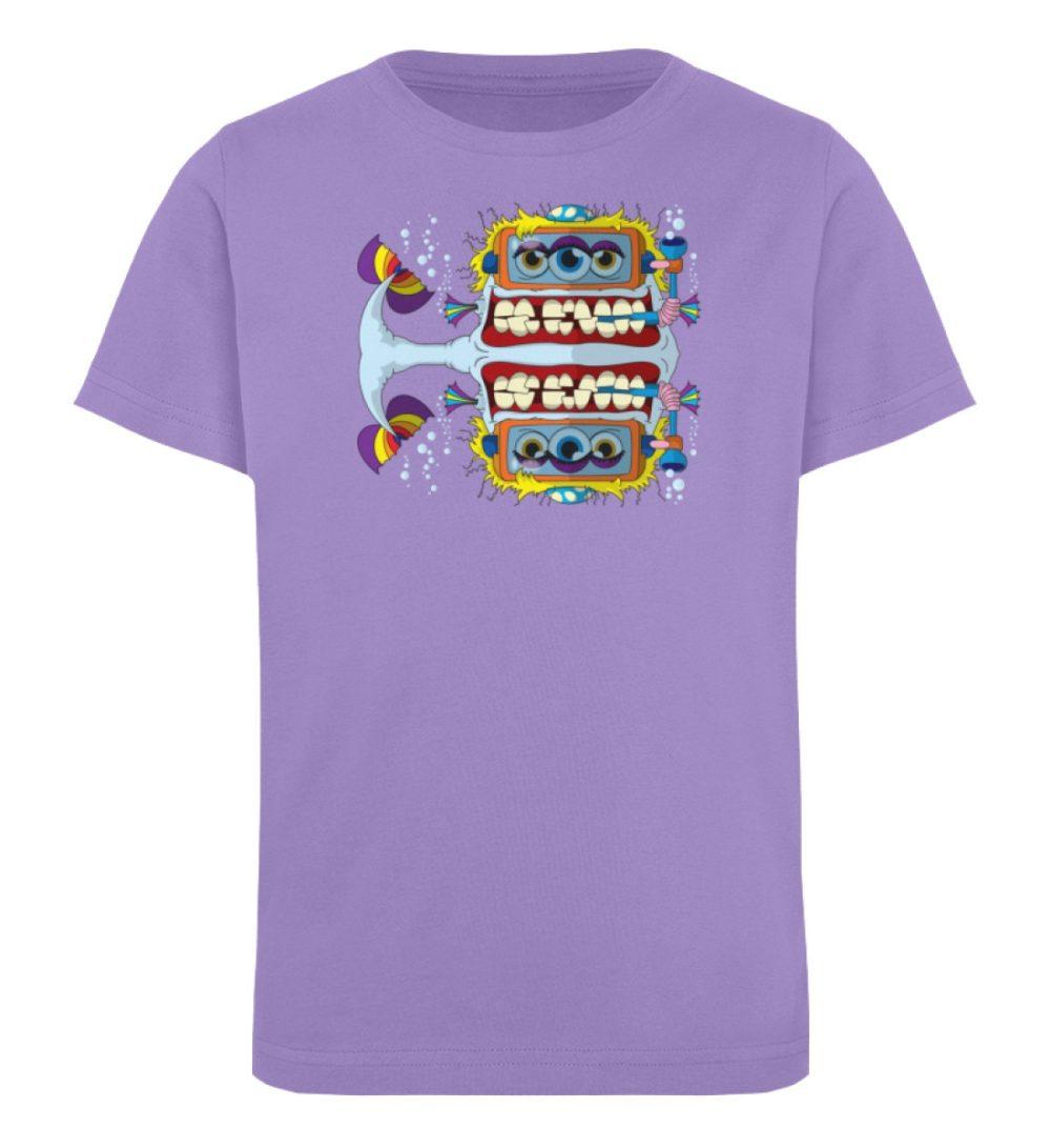 berlin-monster-art-shirt-kids-fishy - Kinder Organic T-Shirt-6904