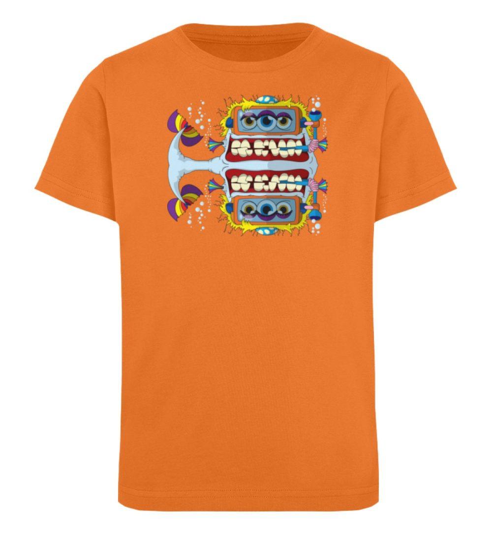 berlin-monster-art-shirt-kids-fishy - Kinder Organic T-Shirt-6902