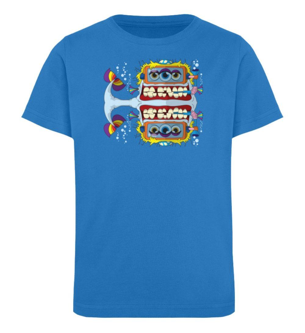 berlin-monster-art-shirt-kids-fishy - Kinder Organic T-Shirt-6886