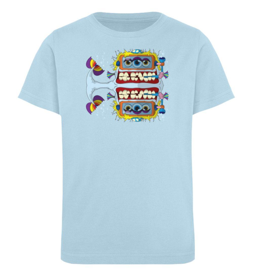 berlin-monster-art-shirt-kids-fishy - Kinder Organic T-Shirt-6888