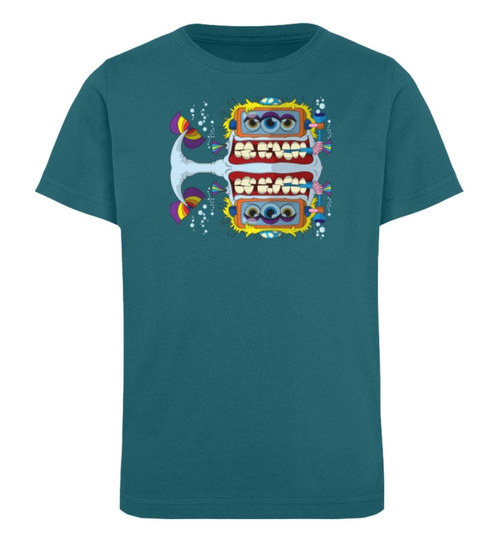 berlin-monster-art-shirt-kids-fishy - Kinder Organic T-Shirt-6889