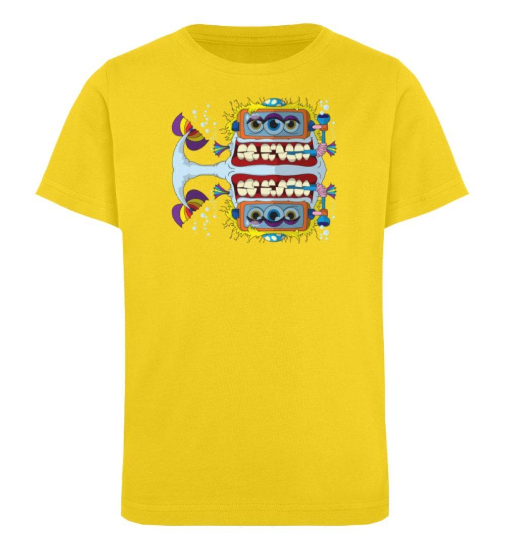 berlin-monster-art-shirt-kids-fishy - Kinder Organic T-Shirt-6905