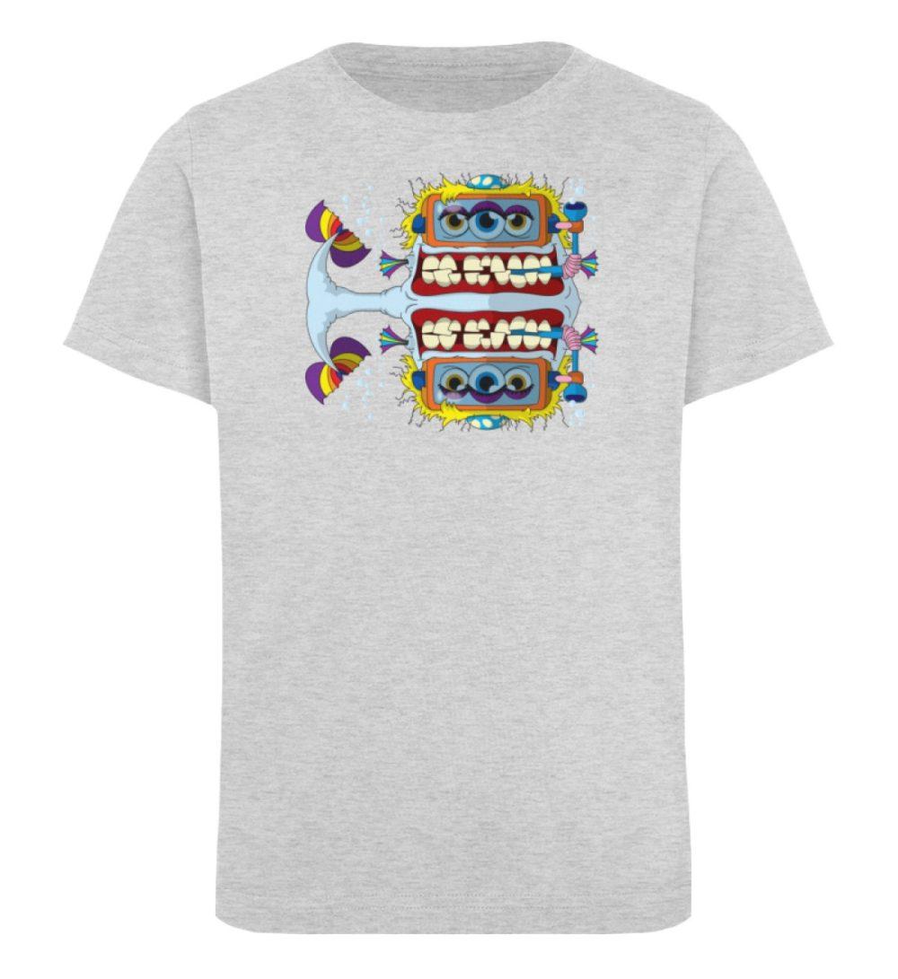 berlin-monster-art-shirt-kids-fishy - Kinder Organic T-Shirt-6892