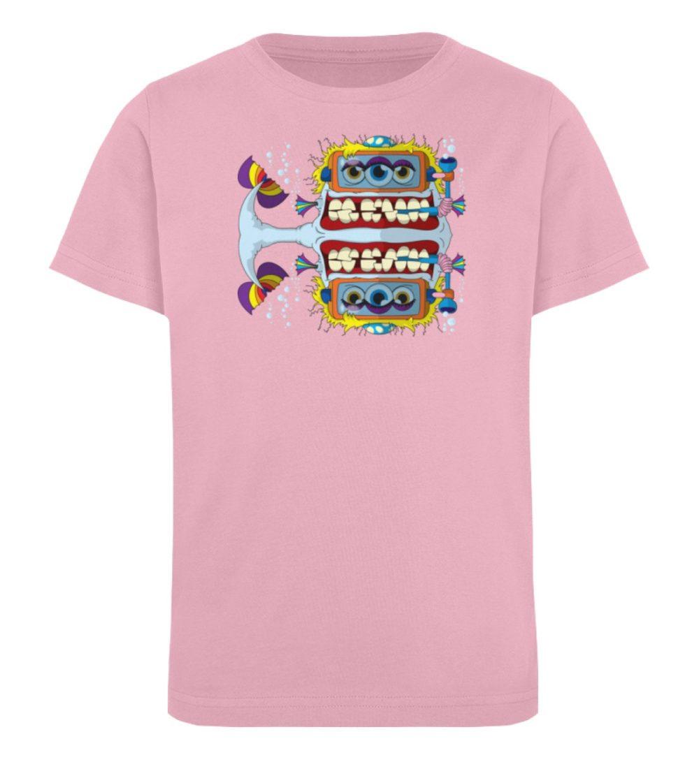 berlin-monster-art-shirt-kids-fishy - Kinder Organic T-Shirt-6903
