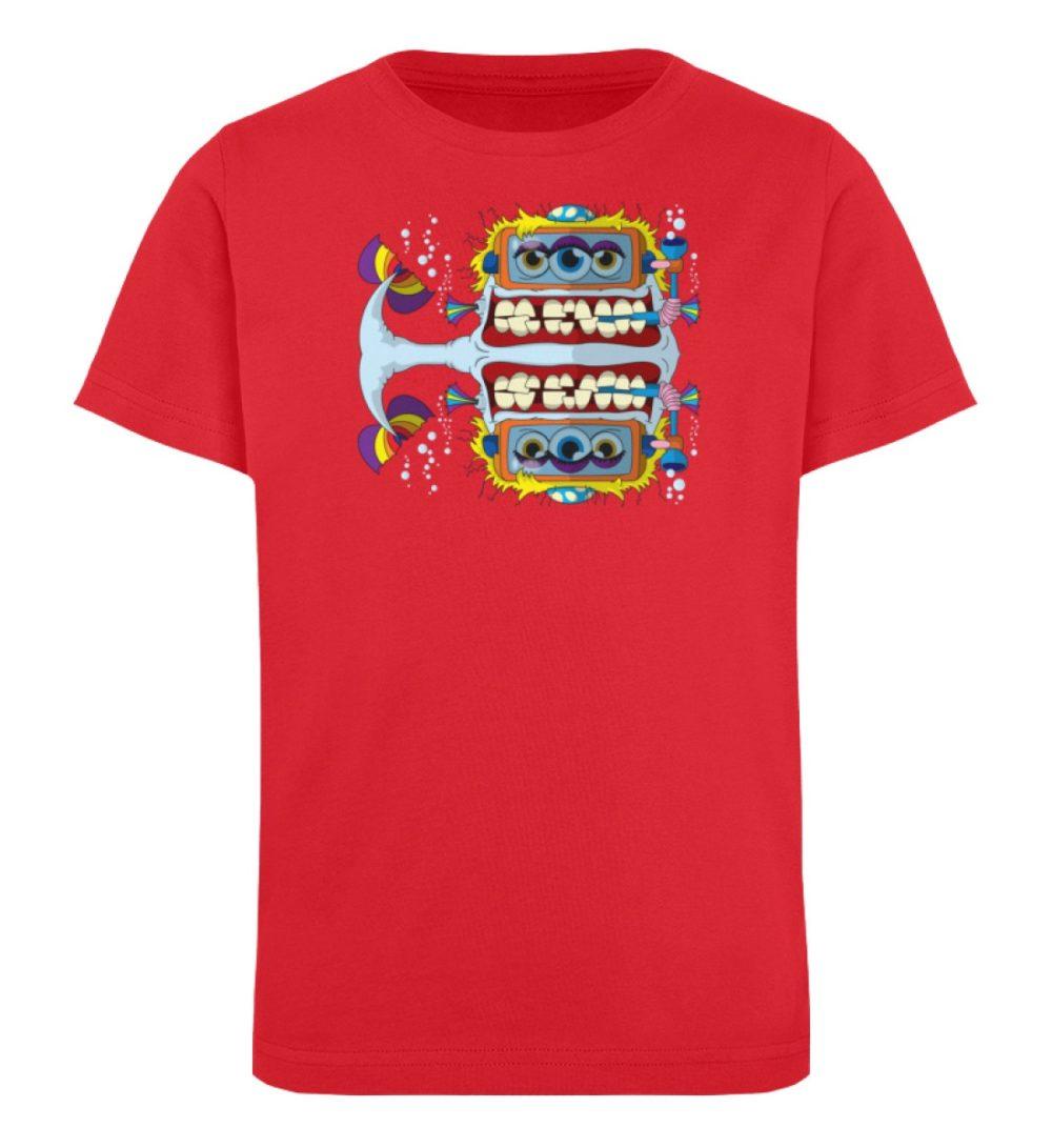 berlin-monster-art-shirt-kids-fishy - Kinder Organic T-Shirt-6882