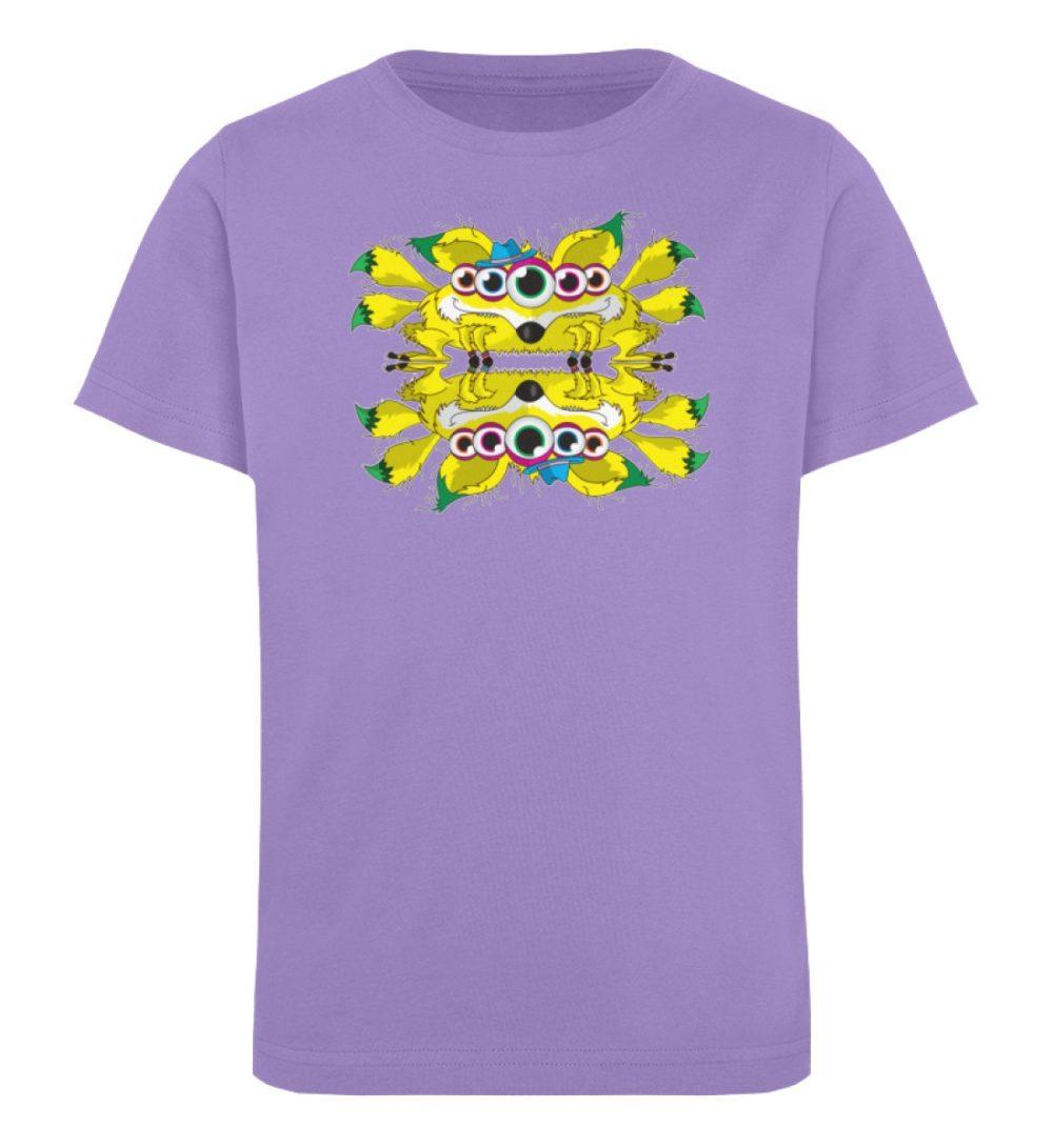 berlin-monster-art-shirt-kids-fox - Kinder Organic T-Shirt-6904
