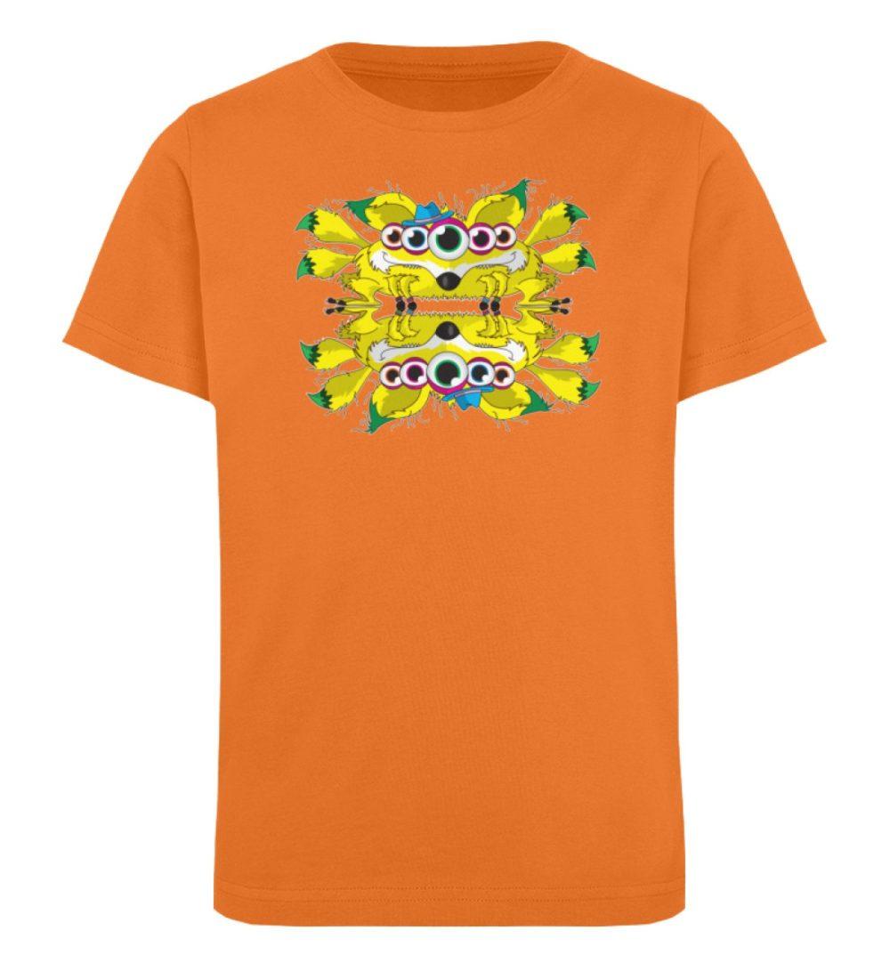berlin-monster-art-shirt-kids-fox - Kinder Organic T-Shirt-6902