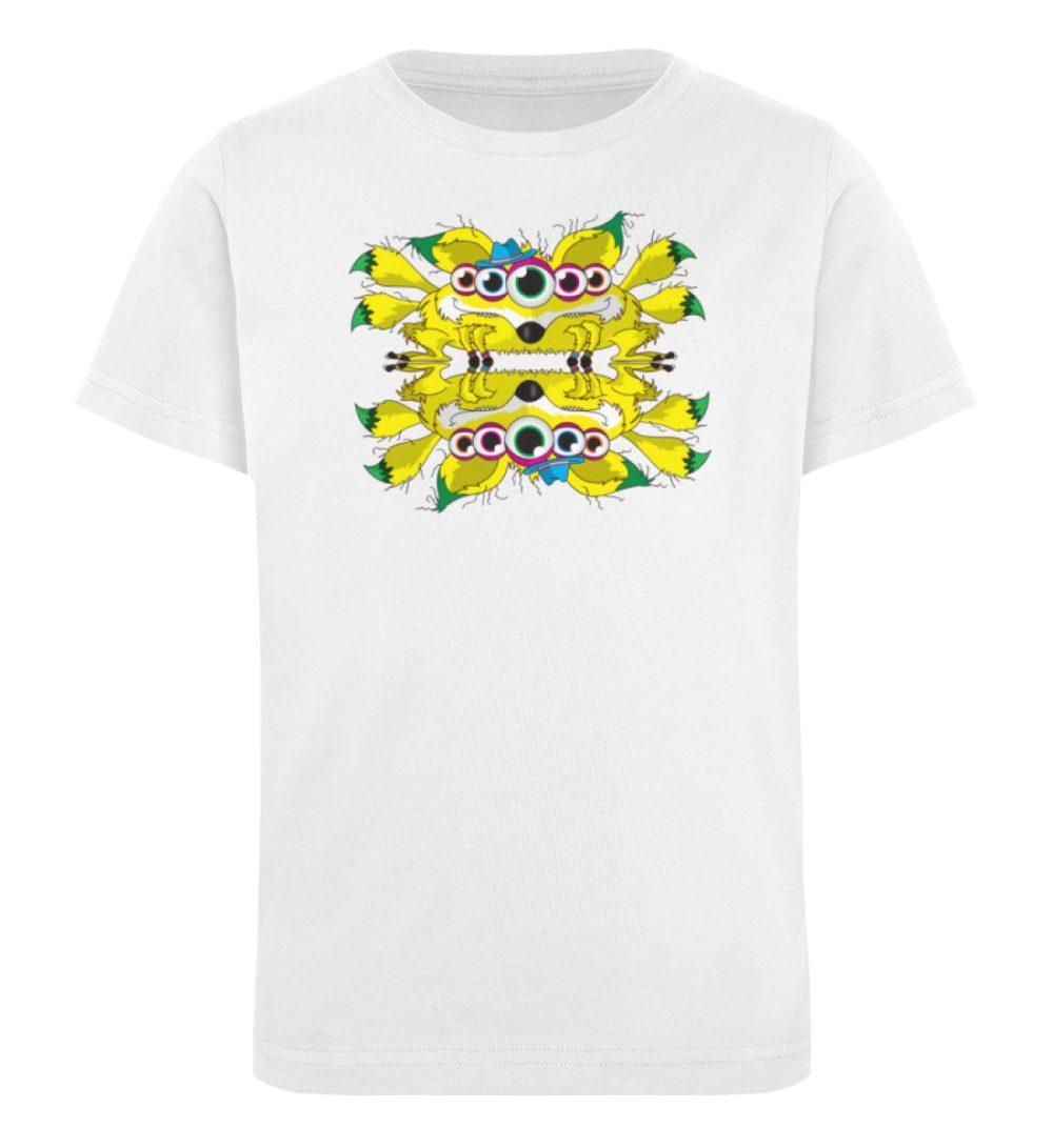 berlin-monster-art-shirt-kids-fox - Kinder Organic T-Shirt-3