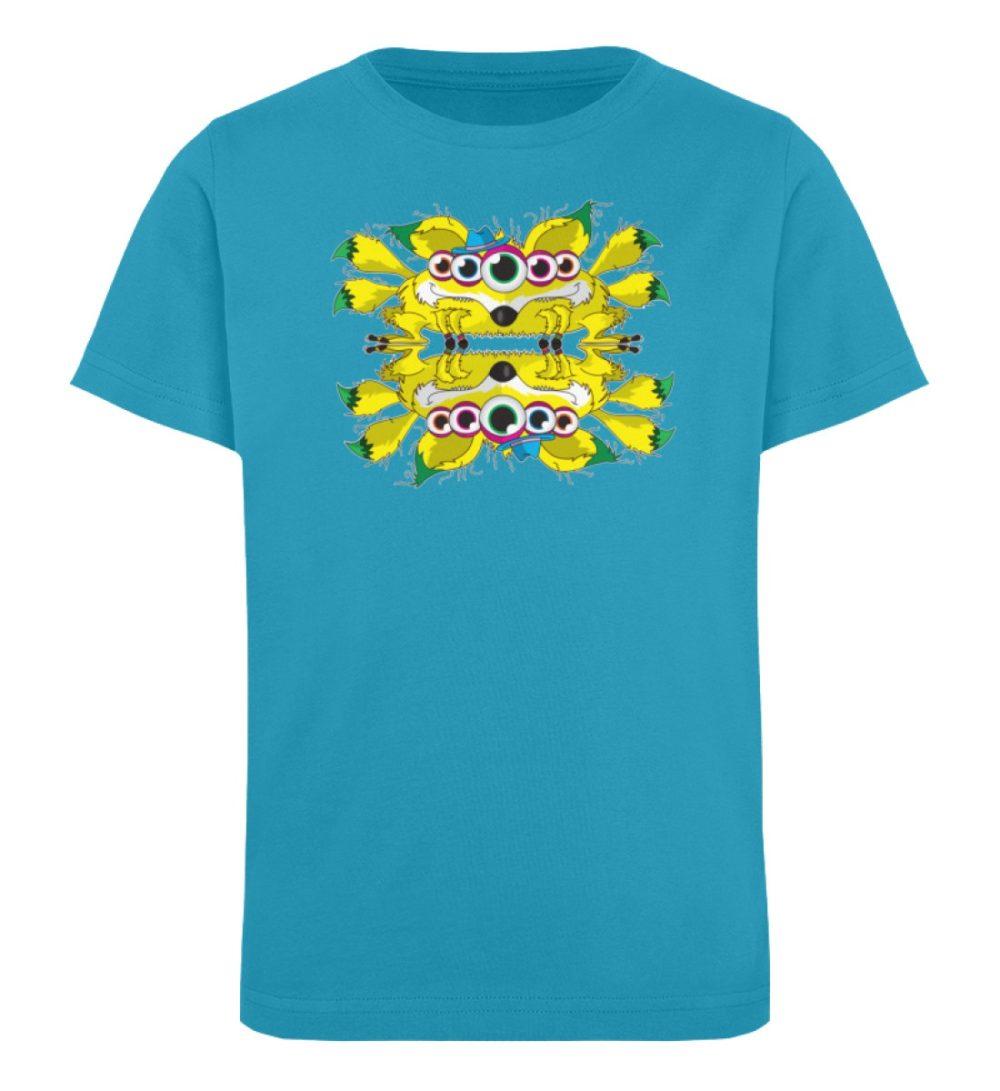 berlin-monster-art-shirt-kids-fox - Kinder Organic T-Shirt-6885