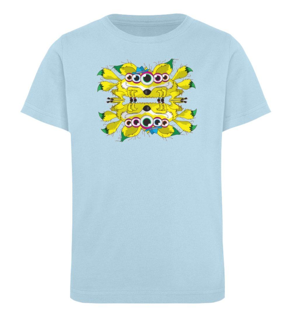 berlin-monster-art-shirt-kids-fox - Kinder Organic T-Shirt-6888